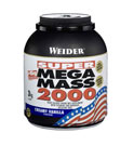 Weider Nutrition Super Mega Mass 2000 - 400gr chocolate